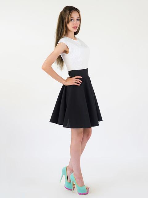Платье двухцветное Podium 5035116