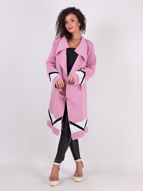 Кардиган розовый с принтом GUASH 5082845