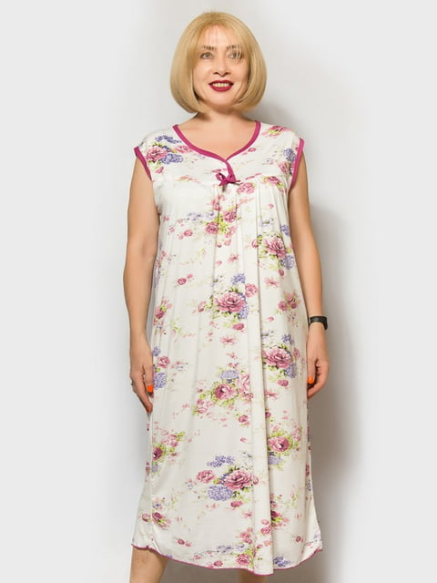 Сорочка нічна у квітковий принт LibeAmore 5180989