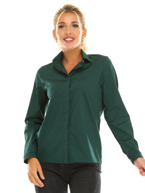 Рубашка изумрудного цвета Exclusive. 5181213