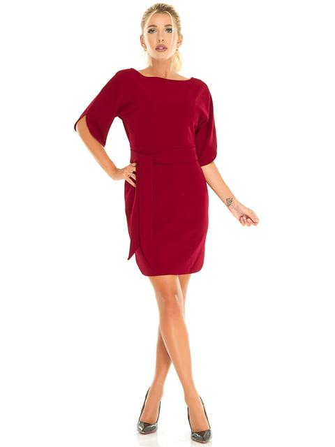 Платье бордовое Exclusive. 5181229