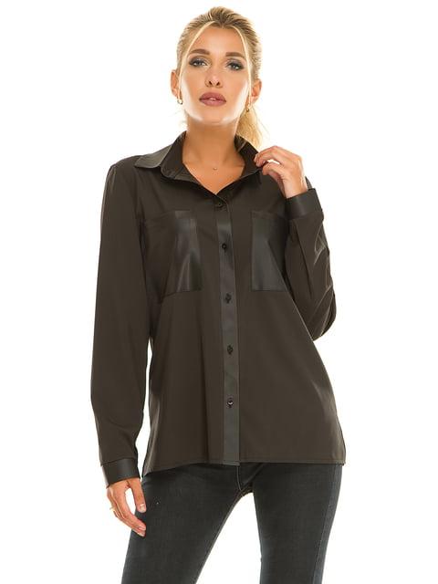 Рубашка черная Exclusive. 5181237