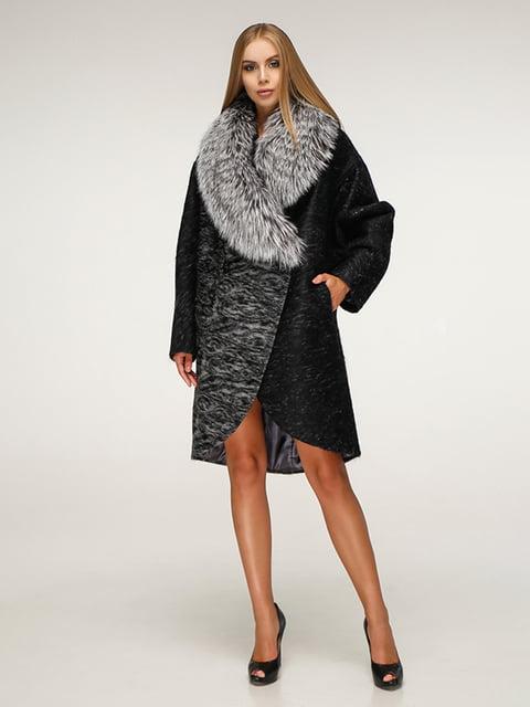 Пальто черное Favoritti 5179061