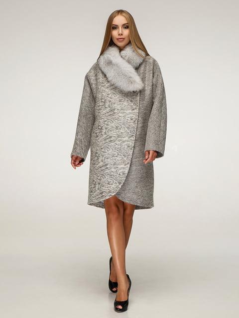 Пальто серое Favoritti 5179067