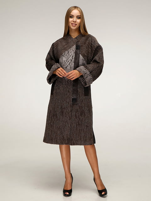 Пальто коричневое Favoritti 5179068