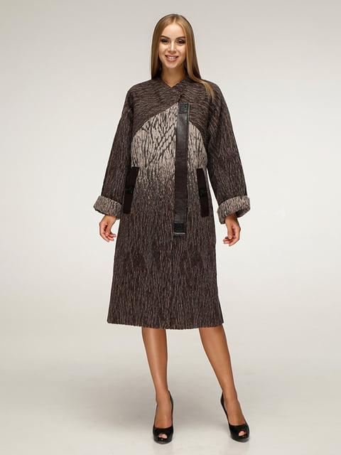 Пальто коричневое Favoritti 5179071