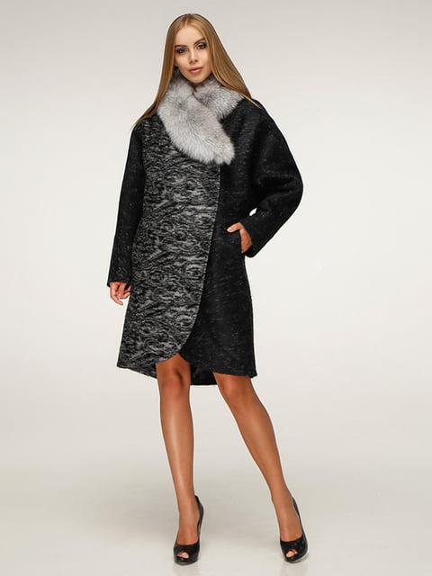 Пальто черное Favoritti 5179073