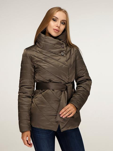 Куртка кольору хакі Favoritti 5179092