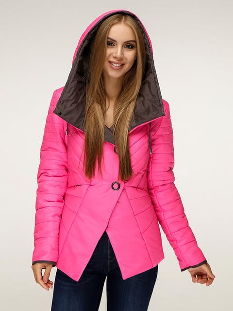 Куртка малинового кольору Favoritti 5181399