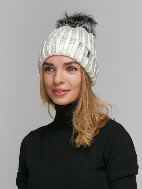 Шапка біла Fashion Star 5177846