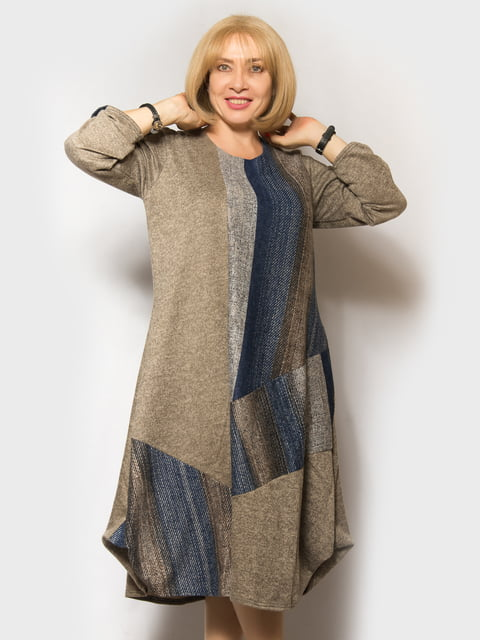 Платье в принт LibeAmore 5181635