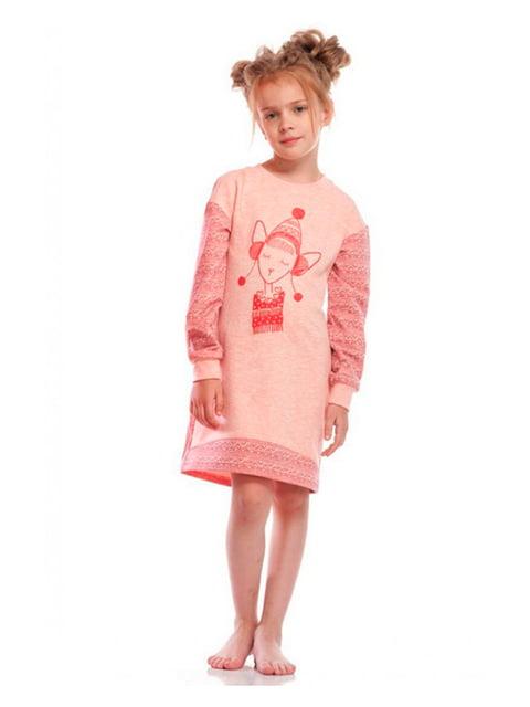 Рубашка ночная розовая Ellen 5182902