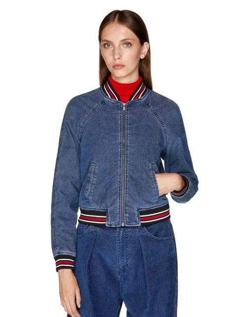 Куртка синяя джинсовая Benetton 5149821
