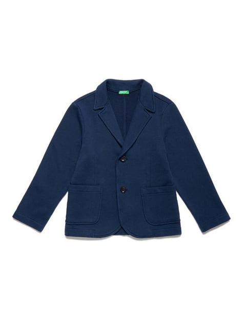 Піджак синій Benetton 5151059