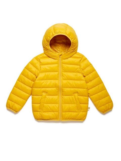 Куртка жовта Benetton 5155489