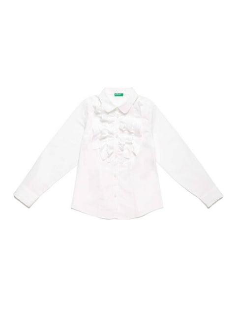 Сорочка біла Benetton 5155594