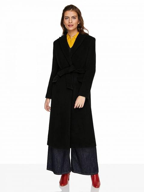 Пальто чорне Benetton 5155722