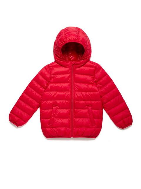 Куртка червона Benetton 5161490