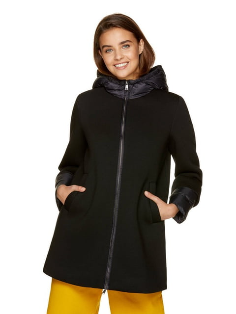 Куртка чорна Benetton 5165294