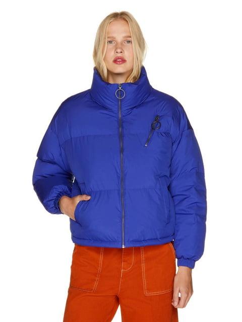 Куртка яскраво-синя Benetton 5165304