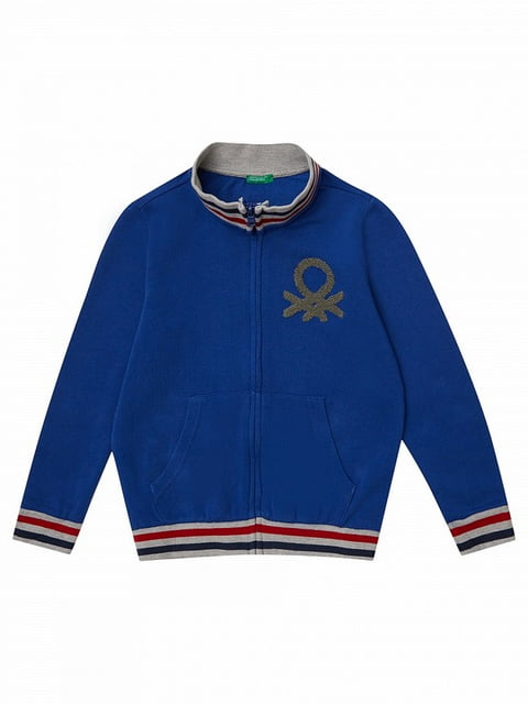 Кофта синя Benetton 5183887