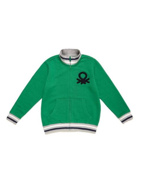 Кофта зелена Benetton 5183890