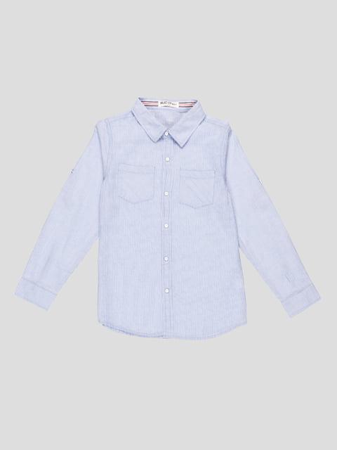 Рубашка блакитна Buddy boy 5180433