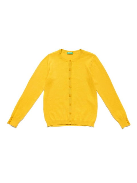 Кофта желтая Benetton 5150874