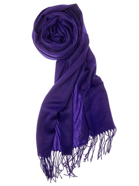 Шаль фиолетовая Pashmina 5184559
