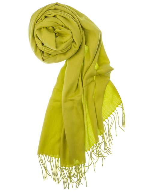 Шаль желтая Pashmina 5184562
