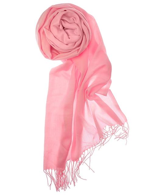 Шаль розовая Pashmina 5184567