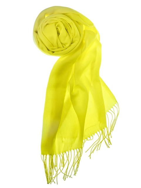 Шаль желтая Pashmina 5184568