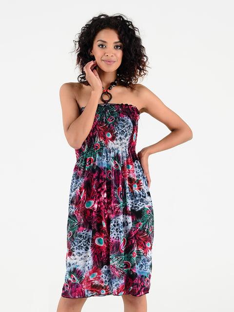 Платье в принт Magnet 5087637