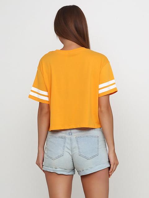 Топ желтый H&M 5176437