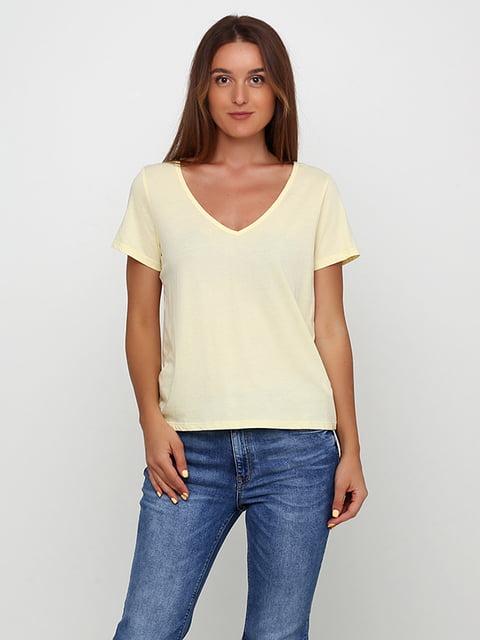 Топ желтый H&M 5176683