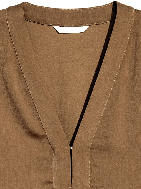 Туника коричневая H&M 5184960