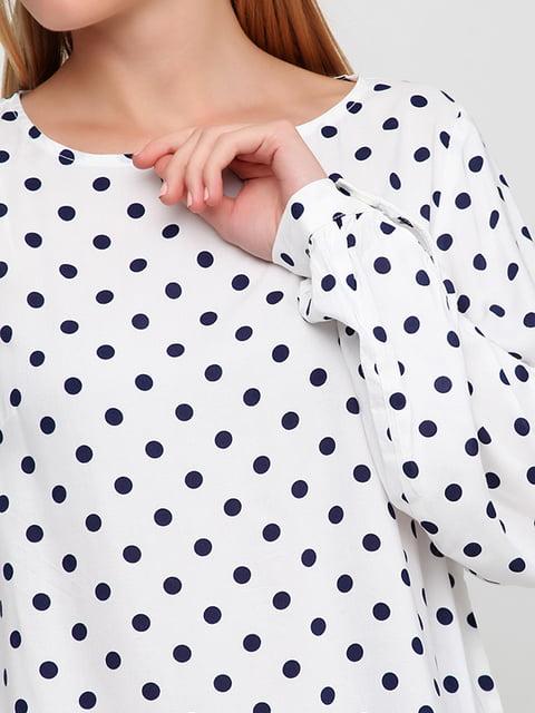 Блуза белая в горох H&M 5184964