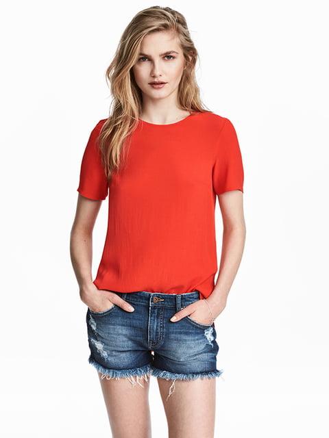 Блуза красная H&M 5185058