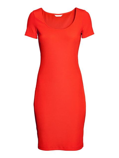Платье морковного цвета H&M 5185098