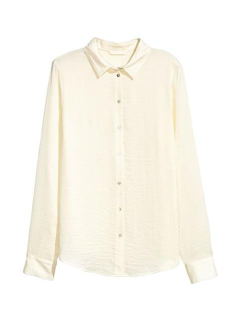 Блуза молочного цвета H&M 5185099