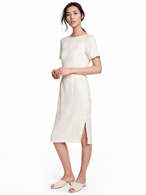 Платье белое H&M 5185108
