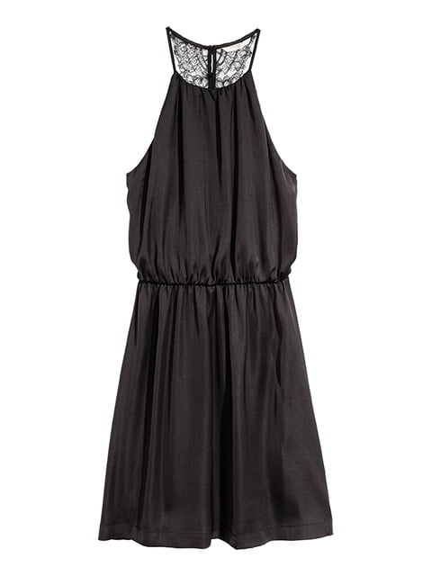 Платье черное H&M 5185179