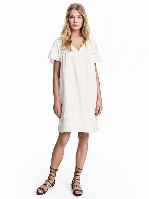 Платье белое H&M 5185196