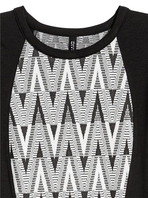 Сукня чорна в принт H&M 5185206