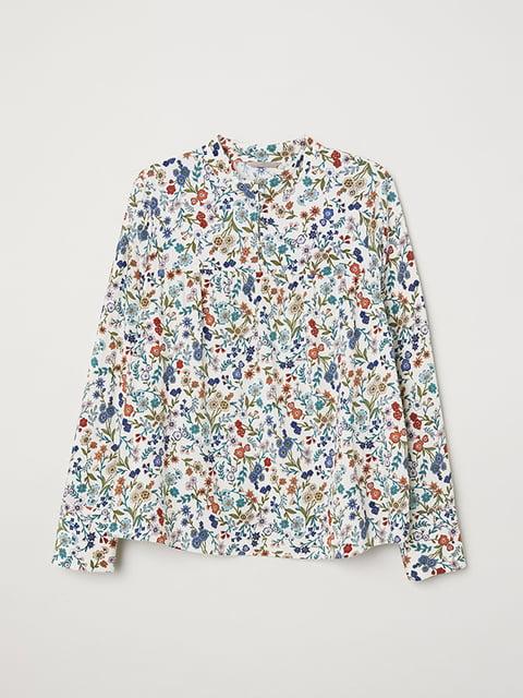 Блуза белая H&M 5185256