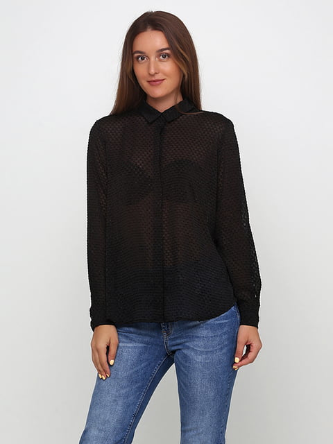 Блуза черная H&M 5185361