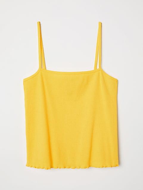 Топ желтый H&M 5185417