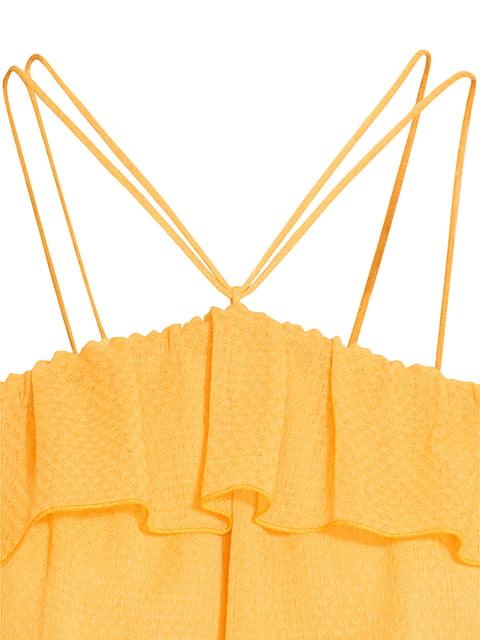 Топ желтый H&M 5185445