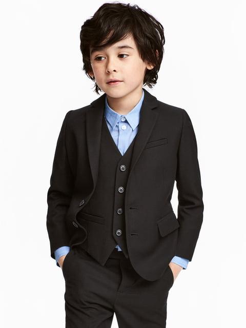 Пиджак черный H&M 5186581