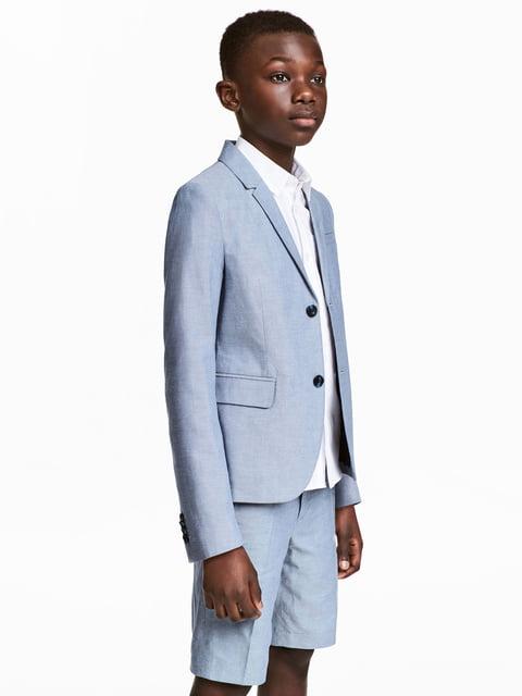 Пиджак голубой H&M 5186783